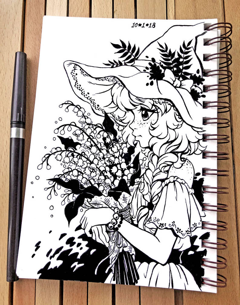 Inktober 2018 Day 1 - Poisonous by celesse
