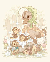 Bath Time by celesse
