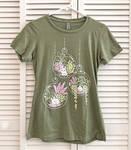 Puddle Bunny Plant Terrarium Shirt
