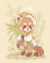 Bonny Red Panda