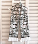 Fuwafuwa Sheep Knit Scarf