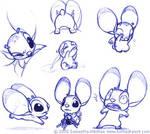 Kwik pen doodles