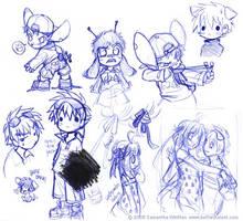 More pen doodles by celesse