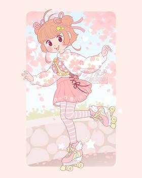 Skater Sakura