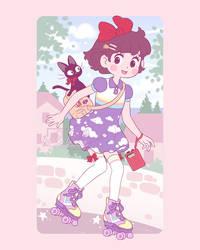Kiki's Roller Delivery Service