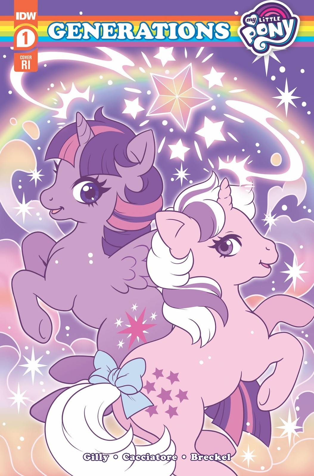 My Little Pony Generations Comic Cover 1