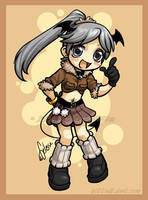 Chibi commission - Kasuran2 by celesse