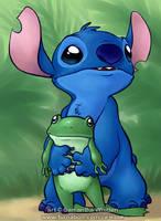Stitch and Froggy