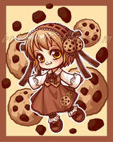 Cookie-chan by celesse