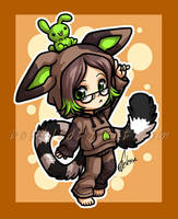 Chibi commission - trioc by celesse