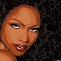 afrogirl by mandyreinmuth