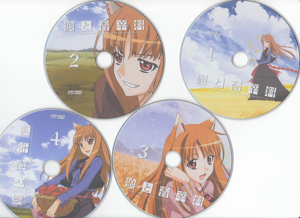 Spice and Wolf DVD Cover by SpicyLawrence