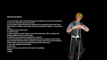 Mortal Fortress X Intro Requests by Perlgb