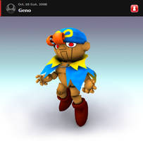 Geno for Brawl by fluxmage