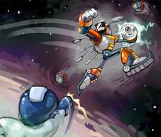 Nebula Man by fluxmage
