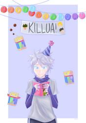 Happy Birthday, Killua! by erzaaa204