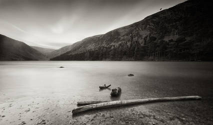 Glendalough Upper Lake by SewerRar