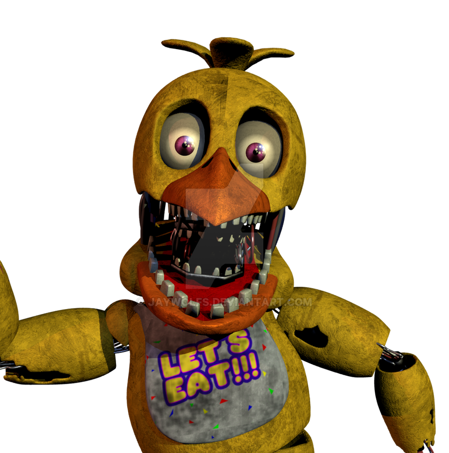 Blender Adventure Withered Chica By Anthonyblender On