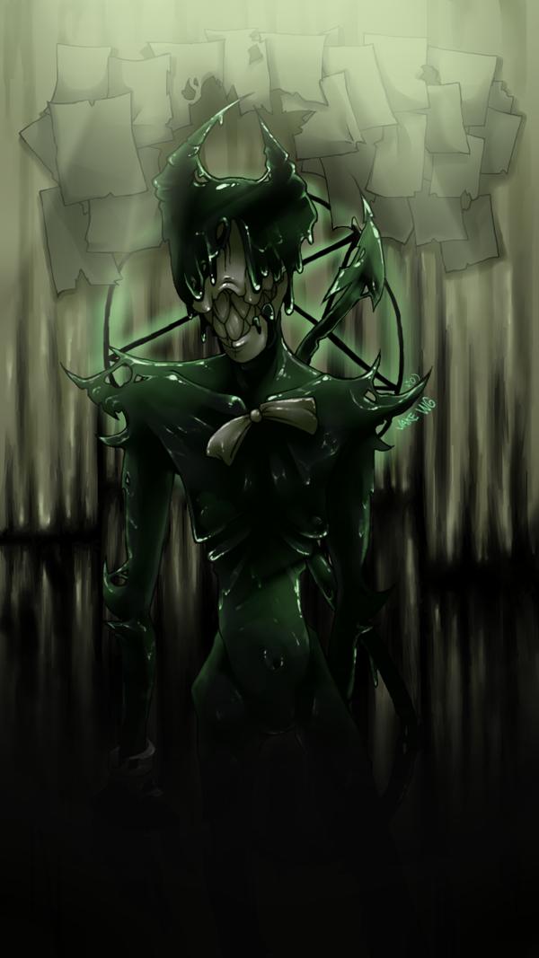 Bendy the demon by JakeWayneGacy