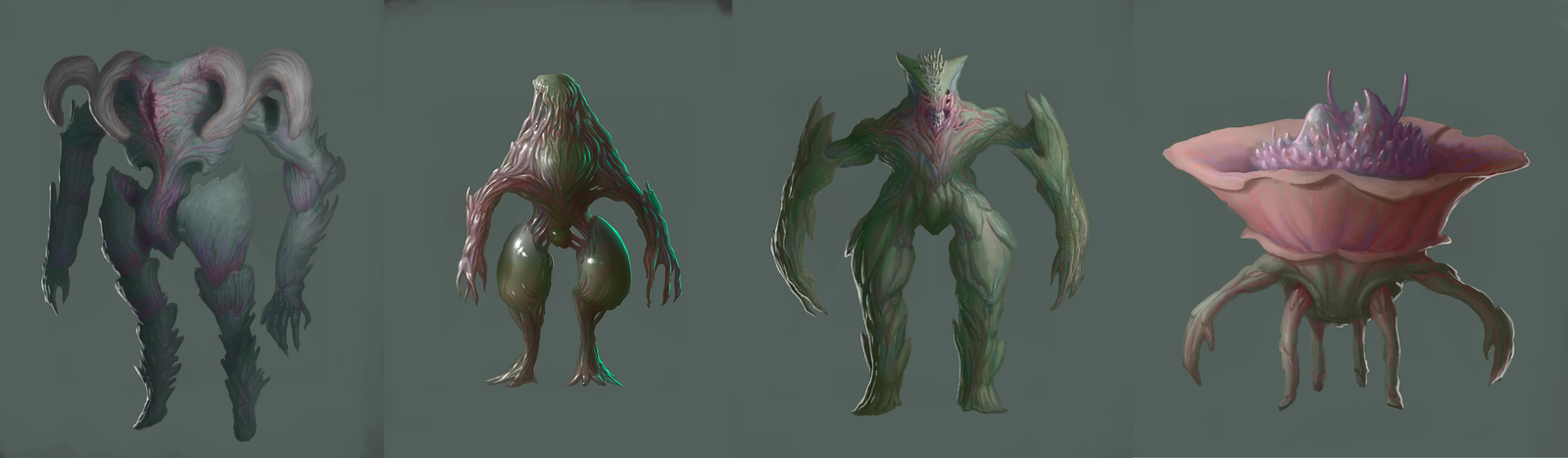 Monster Concepts 2 by JeanRoux