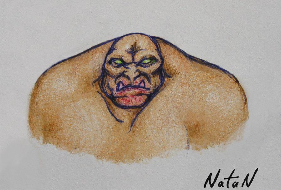 Portrait of a Mancubus by NataN77