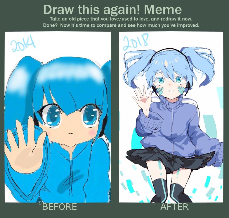 'Draw this again Meme' by JanAala