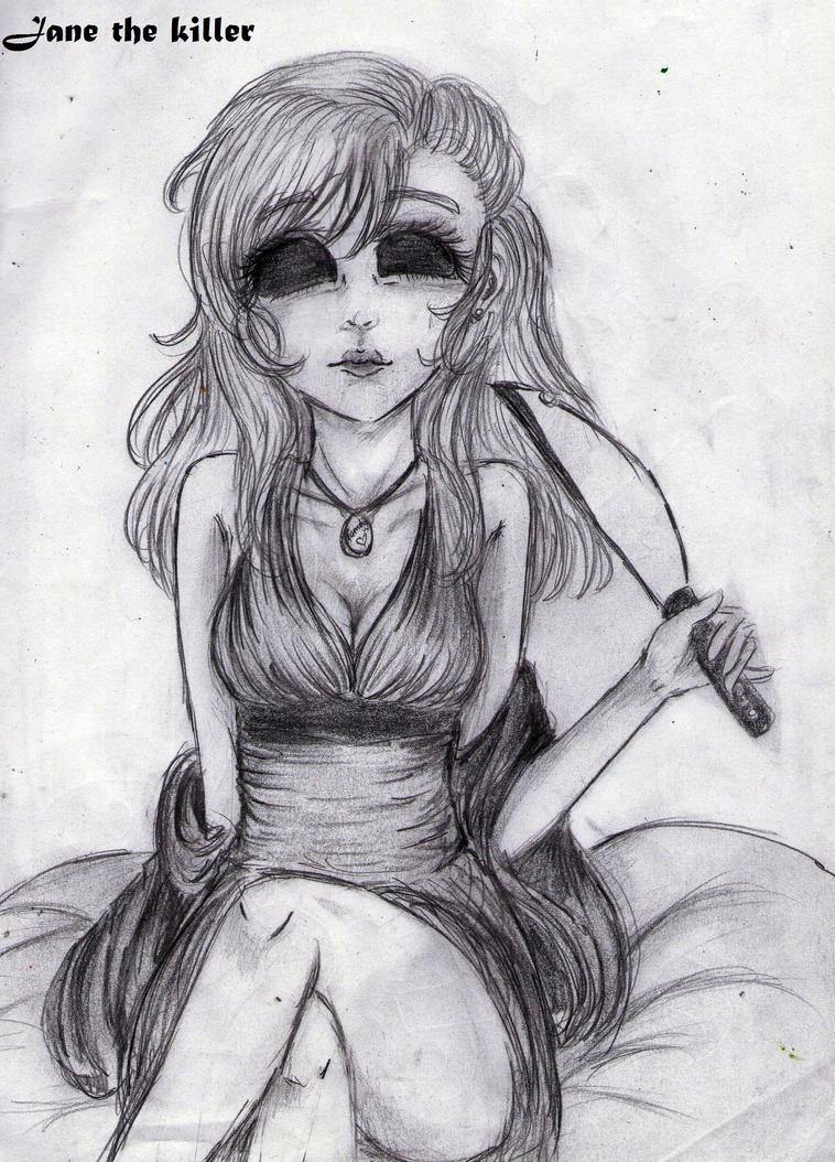 Jane the killer creepypasta by ClaudiaVianney