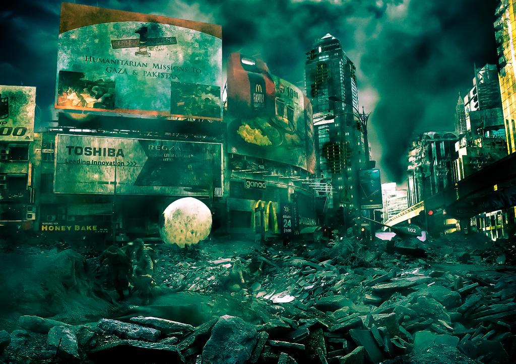 Post Apocalypse World by fikryzainal on DeviantArt