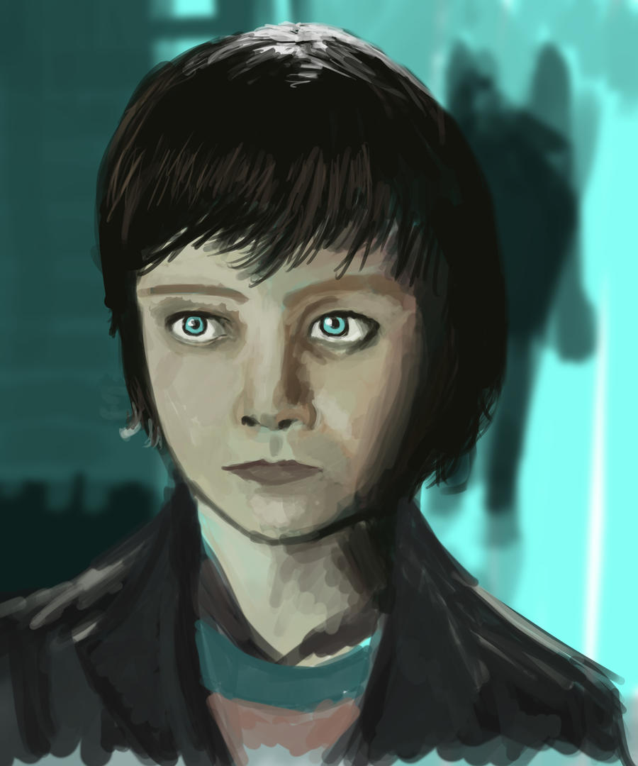 Asa Butterfield - Hugo Cabret by IvurNave