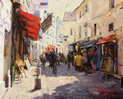 Sunny Monmartre by OlegTrofimoff