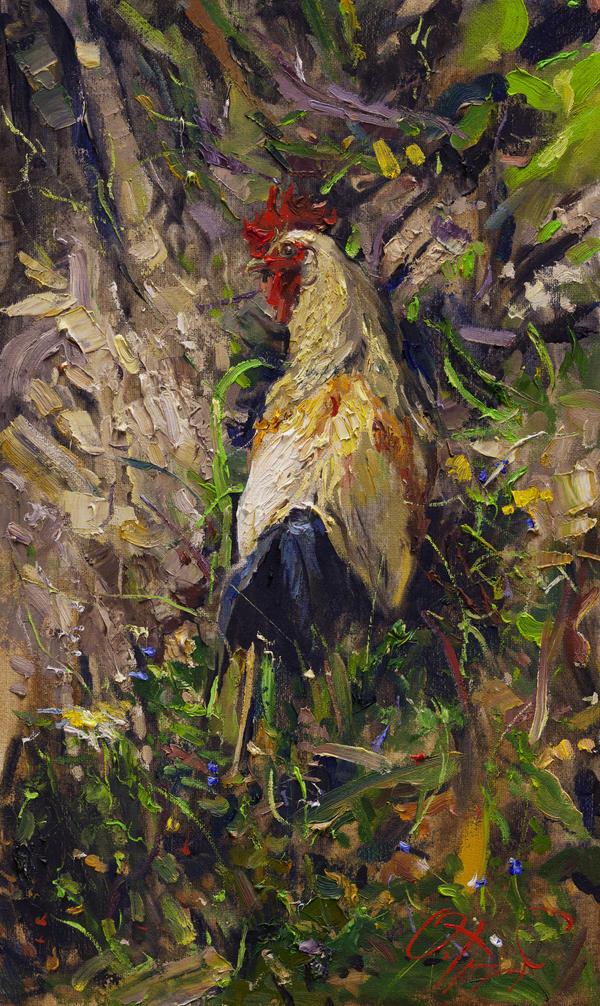 Cockerel by OlegTrofimoff