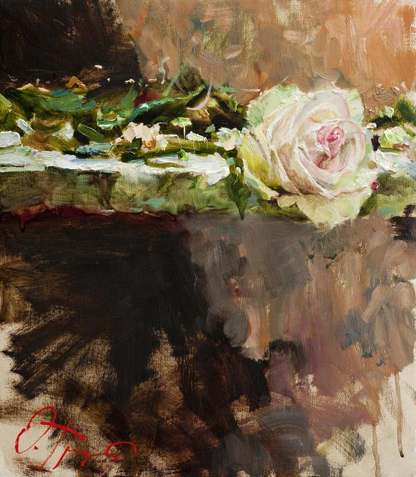 Pearl Rose by OlegTrofimoff
