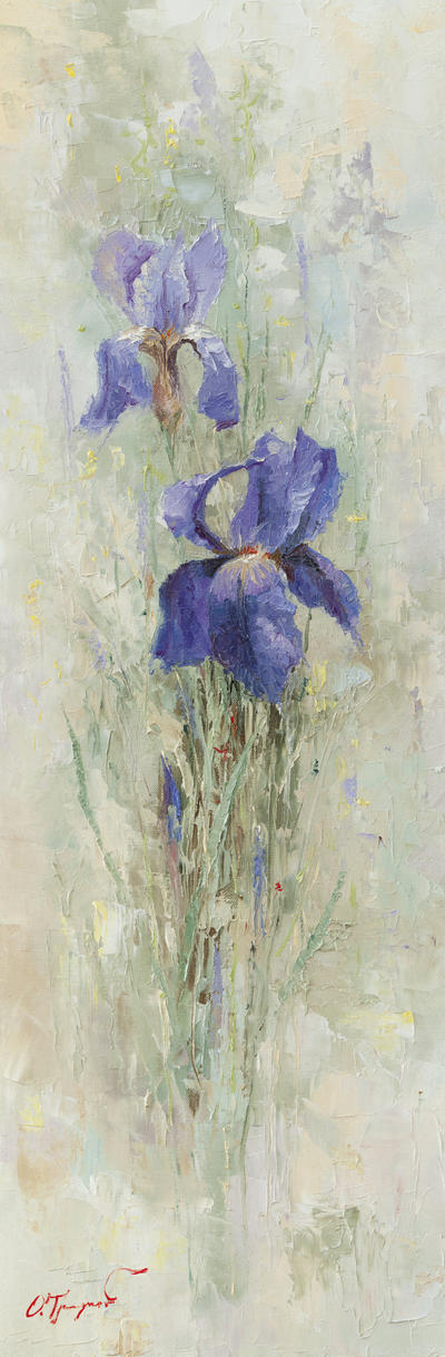 Irises in the Garden by OlegTrofimoff