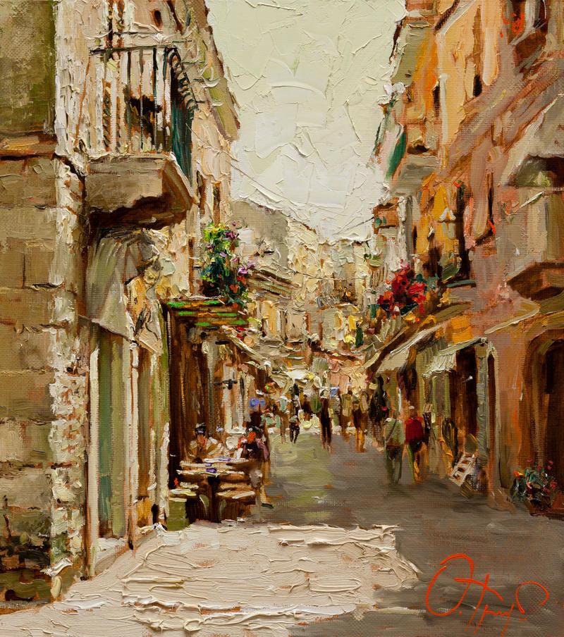 Sicilian Noon by OlegTrofimoff