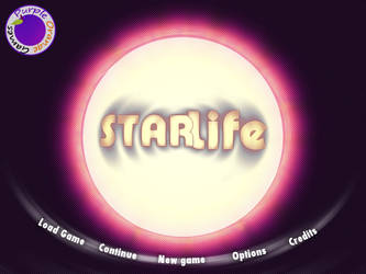 StarLife - Main Menu by tiagocc0
