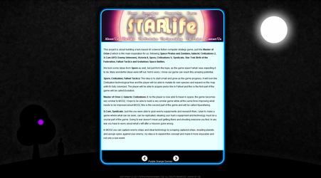 StarLife - Website by tiagocc0