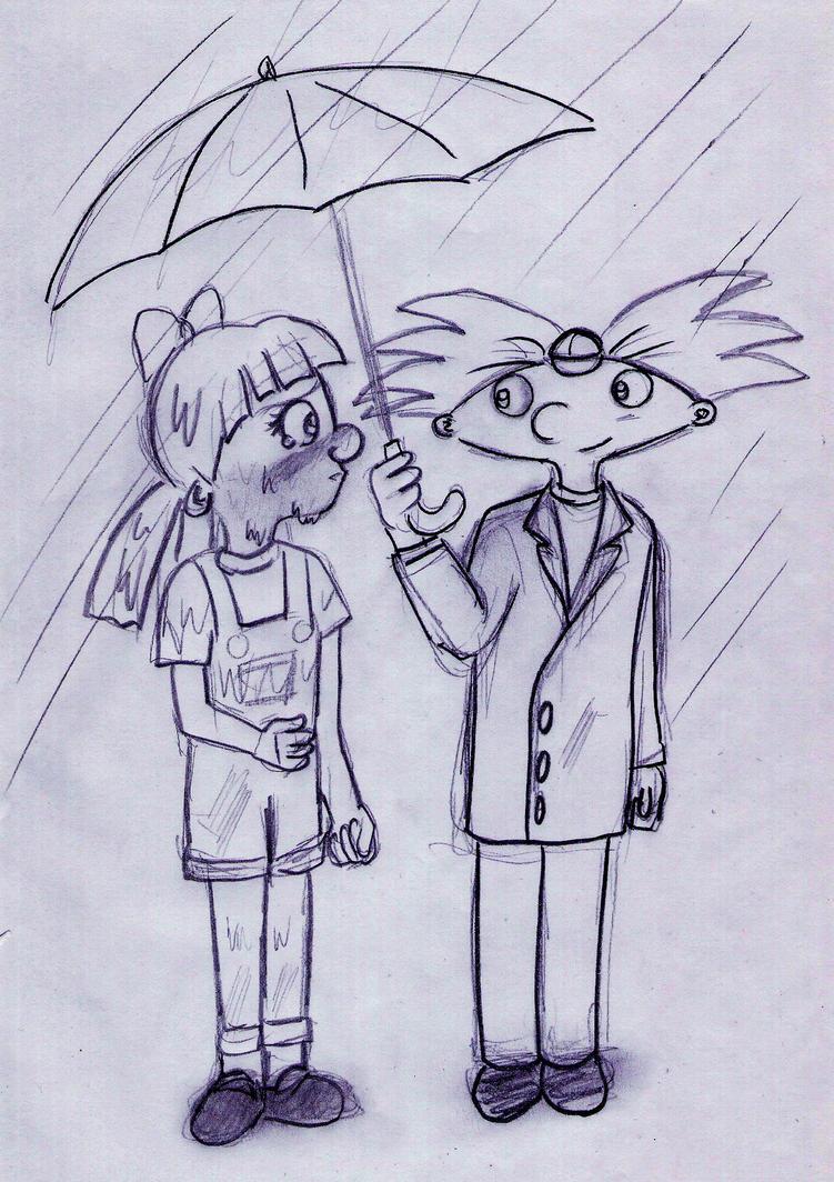 HA SketchThe first time we met by Rei-Hikaru