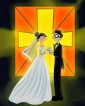 Rhonda and Curly Wedding