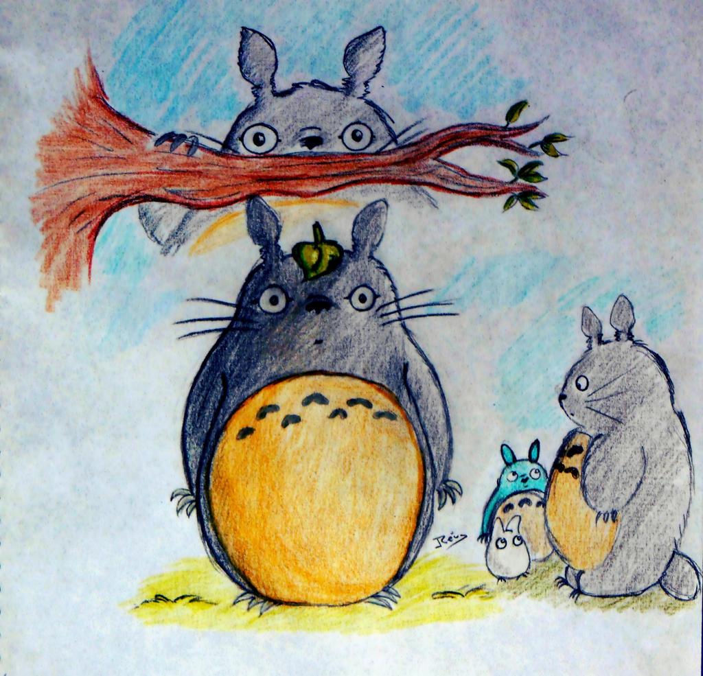 Totoro by Rei-Hikaru