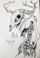 +flesh rippeR+ by urban-faery