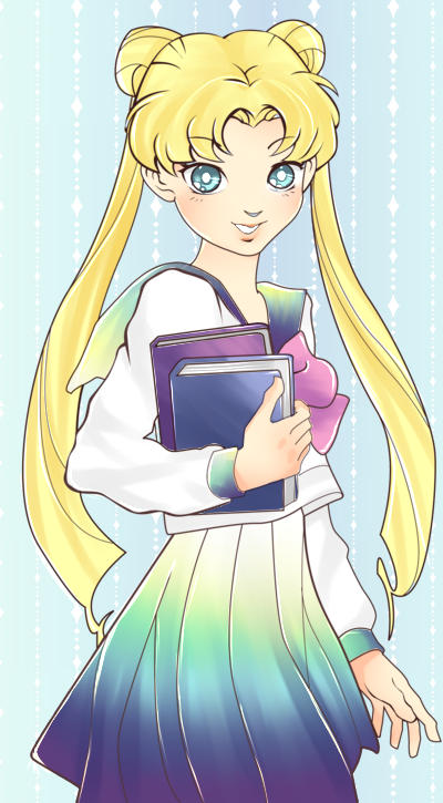 Contest entry: Sailor Moon [coloring] by MidnightAdoptss