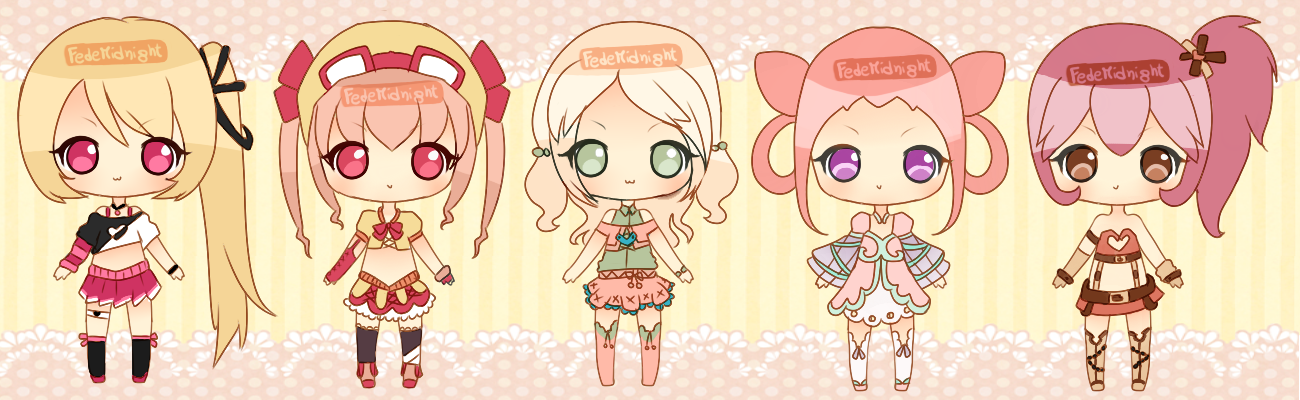 Adoptables - Batch 25 - Pink (Collab) [CLOSED]
