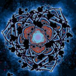 Galatic Flower by Ediblebatteries