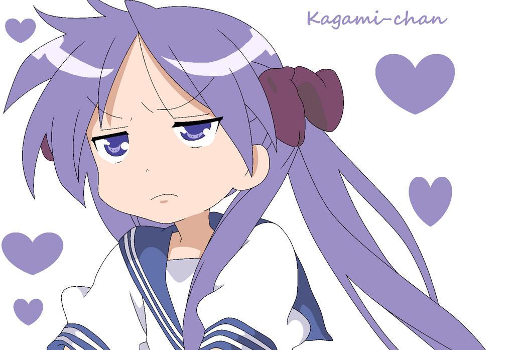 hiiragi kagami by sasunaruloveyou on deviantart