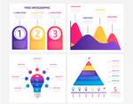 Free Vector Infographic Set