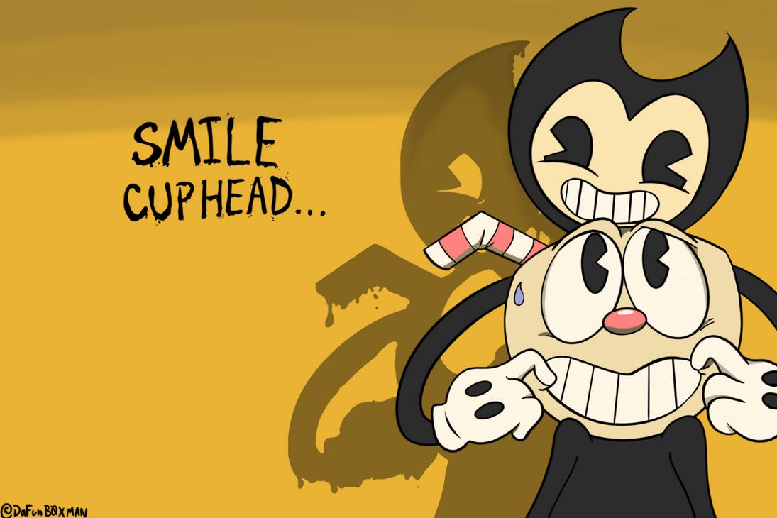 Smile Cuphead by DaFunB0XMaN