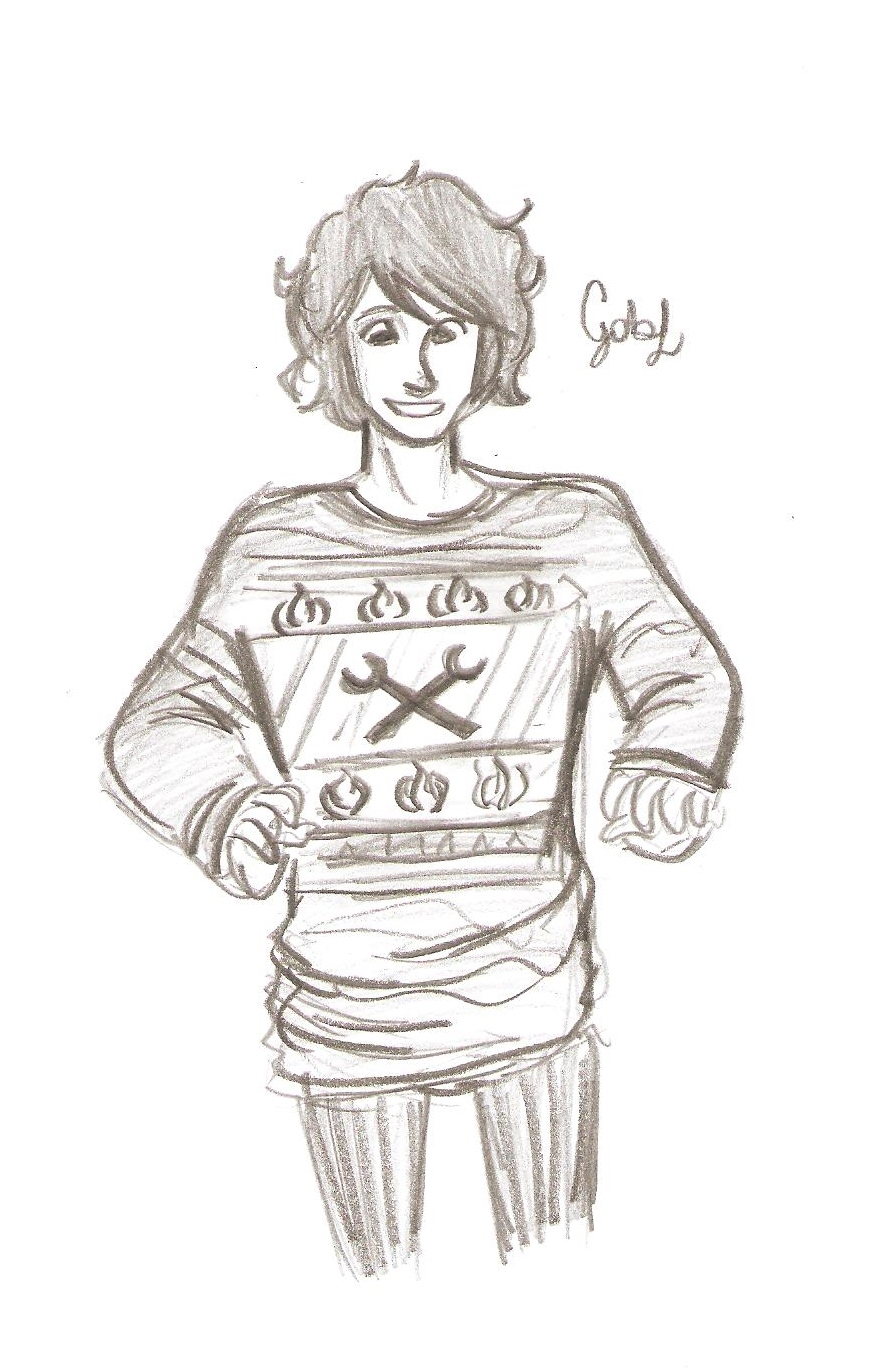 PJ Boys in sweaters by odairwho