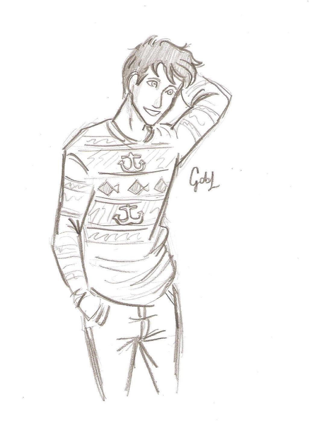 PJ Boys in sweaters by odairwho