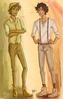 Sammy and Leo by odairwho