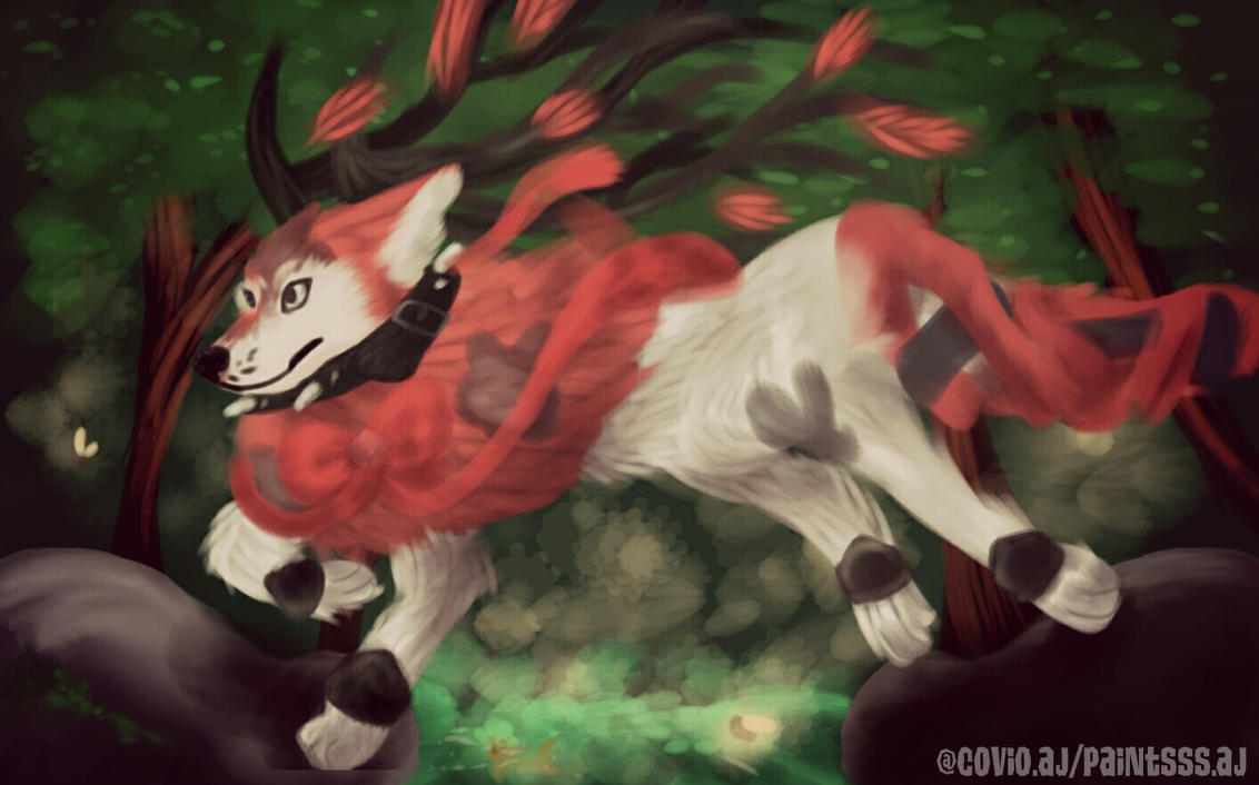 Paintsss' Art Trade by staglag